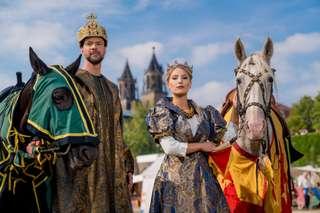 Kaiser Otto und Königin Editha © Magdeburg Marketing, Andreas Lander.jpg