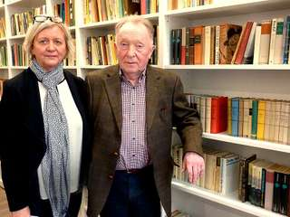 Peter Sodann mit Ehefrau Cornelia