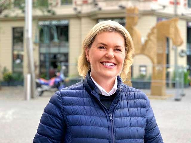 Hasselmanagerin Marianne Tritz
