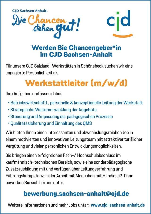CJD Sachsen-Anhalt Chancengeber