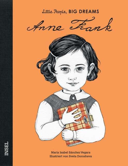 Little People Big Dreams-Buch Anne Frank
