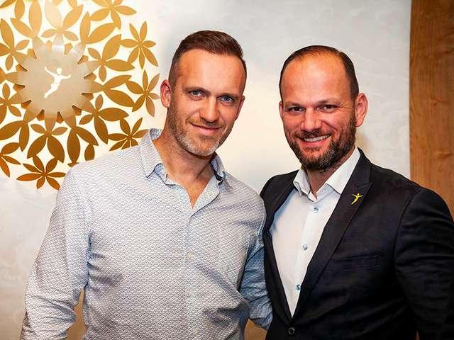 Peter Pane-Neu-Chef Trappe und Gründer Junge