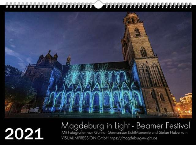 Magdeburg in Light-Kalender