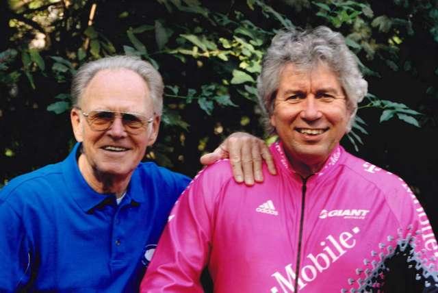 Täve Schur und Günther Grau