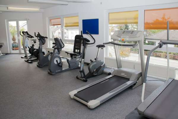 Leere im Fitness-Studio