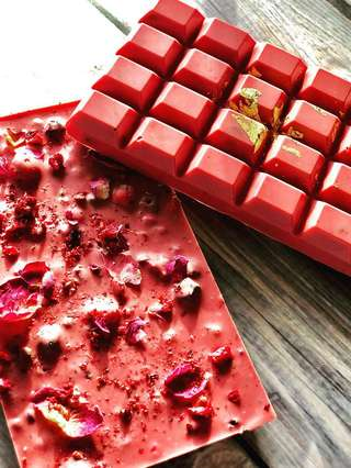 Ruby-Schokolade