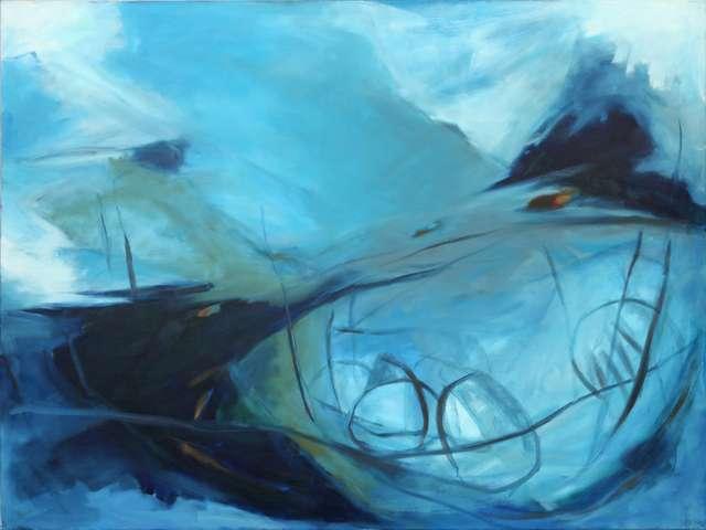 """Michael Kott's """"Blauer Tiefseefisch"""""""