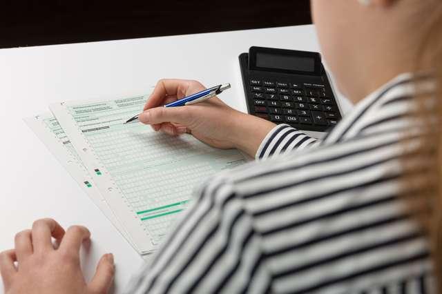 filing a tax declaration