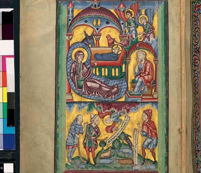 Brandenburger Evangelistar fol. 4r