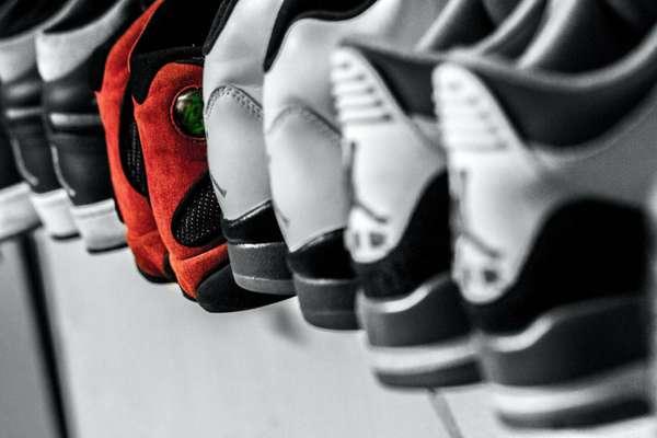 Sneakersammlung