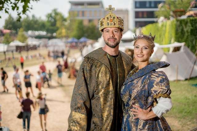 Kaiser Otto und Königin Editha